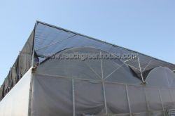 greenhouse outside shading system