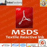 MSDS for Textile Reactive Inks