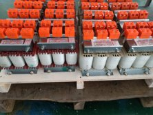 Supply an batch sample order of customized output reactor to Korea