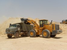 Lovol loader in Saudi Arabia