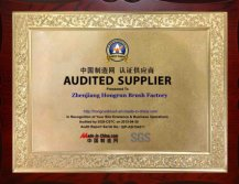 AUDITED SUPPLIER (supplier assessment report)