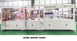 solar panel production room