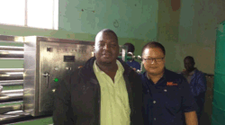 Picture for Mr Wei-Engineer with customer
