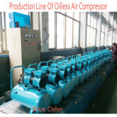 Oilless Air Compressor Production Line
