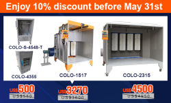 Big Promotion for Powder Coating Booth