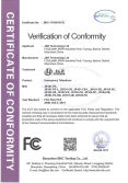 FCC Certification For Weatherproof Telephone
