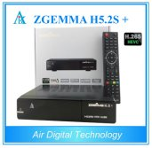 ZGEMMA H5.2S Plus DVB-S2+DVB-S2X+DVB-T2/C Multistream Satellite Receiver