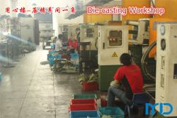 Die-casting Workshop with 11 Units of Die casting Machine