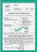 CE CERTIFICATE FOR WATER SUPPLY