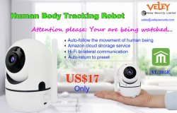 Human Body Tracking Robot Camera