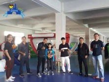 Thiland Customer visit lilytoys factory