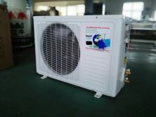 Solar powered split air conditioner no electricity with solar panel