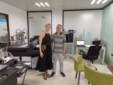 Customer visit and buy our A3 UV Printer