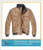 Mens PU Leather Jacket(CW-MLJ-A23)