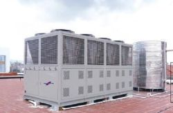Air Cooled Water Chiller is used for Chemical Factory in Vietnan