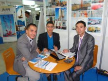 SITP in Palais des Expositions in Algiers, Algeria