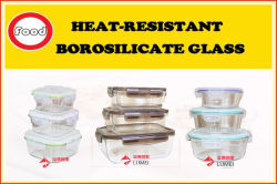 Heat Resistant Glass Food Container