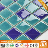 Swimming Pool, Kitchen Ice Crack Ocean Blue Porcelain Mosaic (C648062)