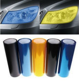 3D Carbon Fiber Vinyl Film Car Light Sticker