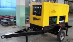 Welding&Generating Double Use Trailer Diesel Genset