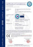 CE Certificate of Complete Trunking Profile Extrusion Line