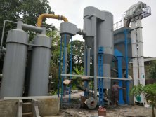400kw rice husk biomass gasifier plant in Mayanmar