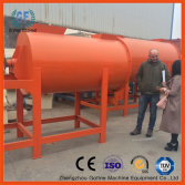 RO client inspect the dry mortar mixer plant