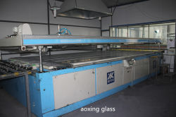 Screen printing production line
