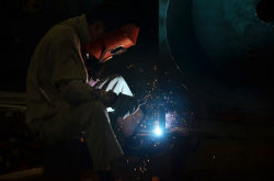 excellent welders in workshop