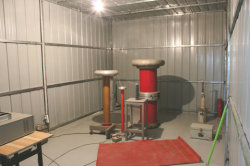 Partial discharge test lab