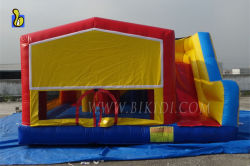 Commercial bouncy house inflatable bouncer with slide B2150