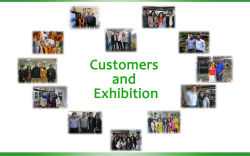 Customers and Exhibition