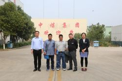 Warmly Welcome Philippine Merchants to Visit China Coal Group for Purchasing Equipment