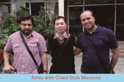 Morocco client visited