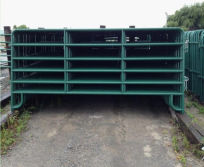 USA Powder Coated 12ft Corral Panel/Livestock Panel