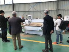 Customer from Iran came to our factory to inspect his machine
