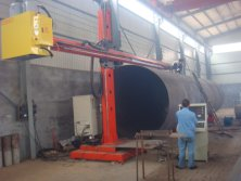 The circular seam automatic welding machine
