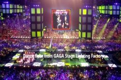 Led dance floor from GAGA Light