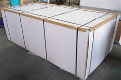 MDF be packed in Pallets