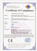 CE certificate for cassette player