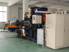 spring machine for big coil winding