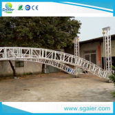 Arch truss Aluminum Stage Lighting Roof Truss System for Events