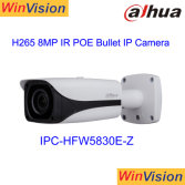 Dahua 8 Megapixel Ultra Network CCTV Outdoor Alhua 8MP IR IP Poe 4K HD Bullet Camera Ipc-Hfw5830e-Z