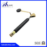 lockable gas spring with handset