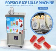 single mold ice popsicle machine