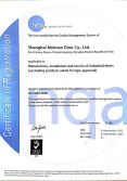 ISO 9001:2000 Management System Certificate
