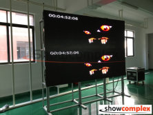 ph2.5 indoor led display panel aging in factory