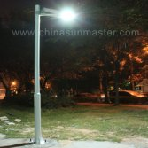 All in one solar led street garden light in Guatemala
