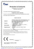 CE Certificate of Combo heat press machine