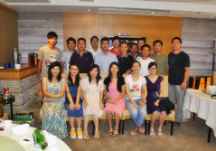 Group Photo on the Mid-autumn Festival, 2011
